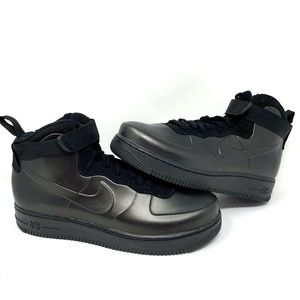 Nike Air Force 1 Foamposite Cup Triple Black Shoes